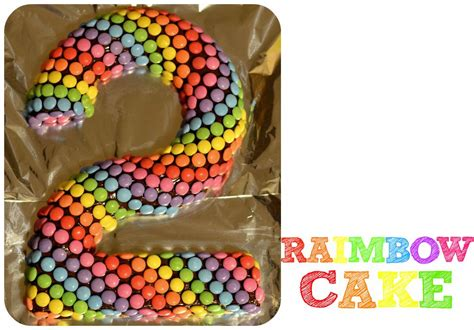 le raimbow cake simple  colore gateau anniversaire
