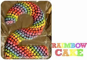 Gateau Anniversaire 2 Ans : le raimbow cake simple et color g teau anniversaire ~ Farleysfitness.com Idées de Décoration