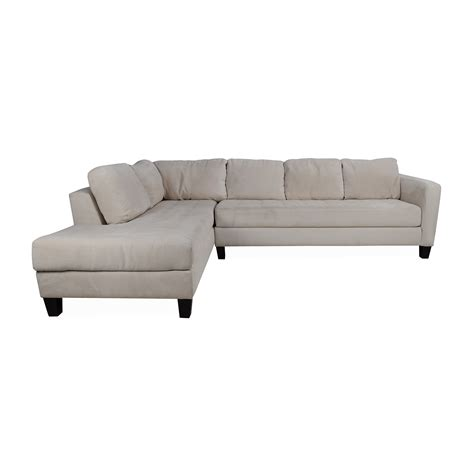 fabric sofas and sectionals 65 off macy 39 s macy 39 s milo fabric microfiber sectional