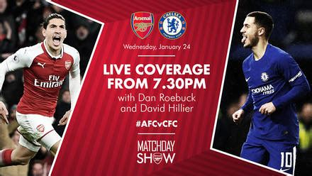 Arsenal And Chelsea Game Live