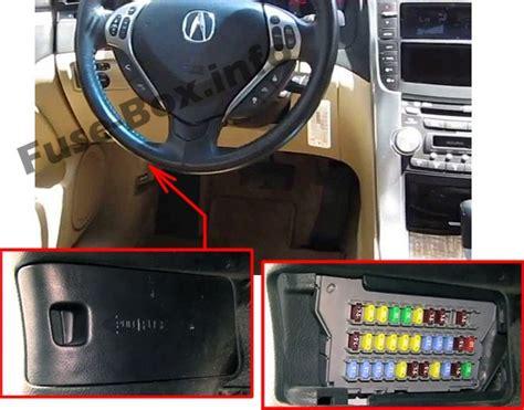 2006 Acura Tl Fuse Box by Acura Tl Ua6 Ua7 2004 2008