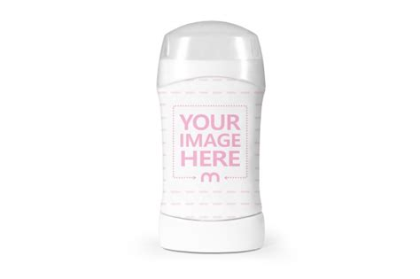 Present your design on this mockup. Underarm Deodorant Mockup - Mediamodifier
