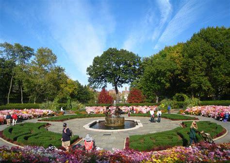 Central Park Garden by Conservatory Garden In Central Park