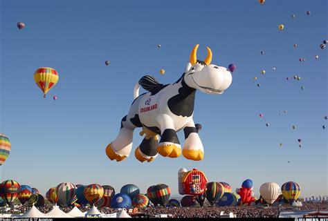 Cowhide Balloons - cameron balloons cow 106 ss creamland aviation photo