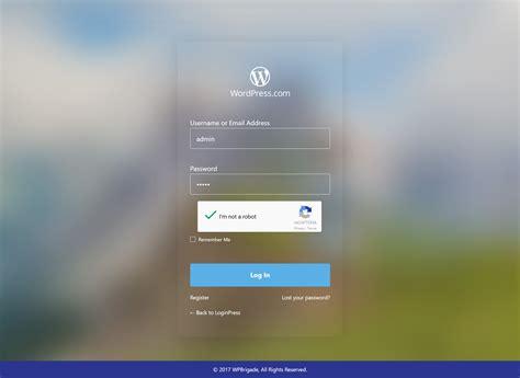 Custom Login Page Customizer  Loginpress Wordpressorg