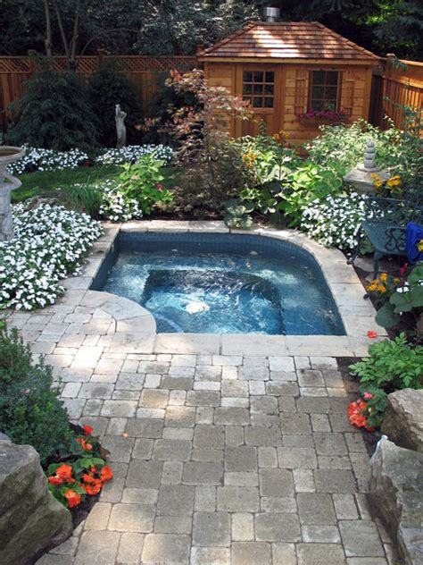 inground spa pools and hot tubs traditional pool toronto by infinite possibilities