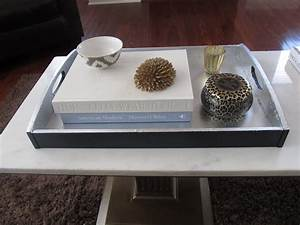 square wood pedestal coffee table with white marble top With marble coffee table tray