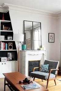 Miroir Effet Verrière : miroir verri re factory window mirror elephant in the room ~ Teatrodelosmanantiales.com Idées de Décoration