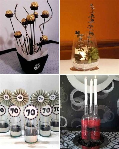 centros de mesa para hombres 2 tile decoraciones cumple table decorations table centers
