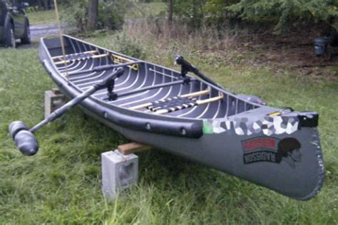 Duck Hunting Boat Stabilizer by Canoe Stabilizers Complete Paul S Outdoors Journal