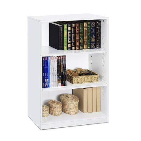 One Shelf Bookcase by Open Bookcase 3 Shelf Storage Shelves Bookshelf Furniture