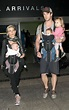 Chris Hemsworth and wife Elsa Pataky arrive at LAX with ...