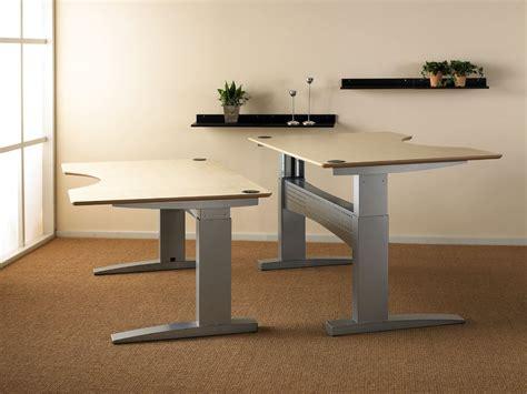 standing desk height electric adjustable height desk homefurniture org