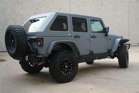 jeep wrangler bently grey kevlar  slant  top