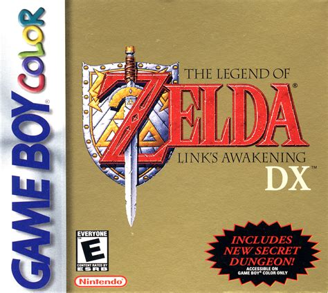 The Legend Of Zelda Links Awakening Dx Box Arts