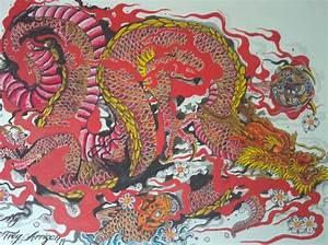 rust japanese dragon by TheDarkestPassenger | BODY ART ...