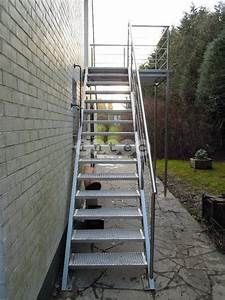 Exterior Metal Stairs