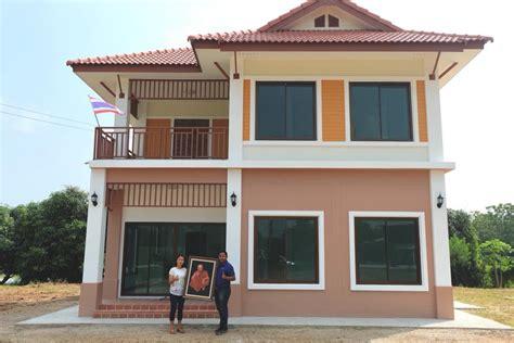 แบบบ้านสองชั้น ราคาไม่เกิน 2 ล้านบาท 5 ตัวอย่างสร้างเสร็จ ...