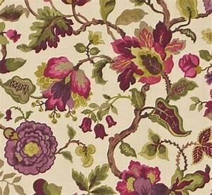 Ranken Blumen Garten : stoff blumen ranken herbst lila gelb gr n la cassetta ~ Whattoseeinmadrid.com Haus und Dekorationen