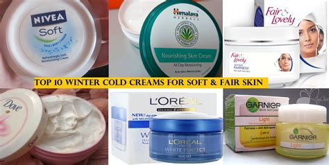 top 10 best winter cold creams to keep your skin soft