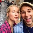 Anna Camp and Skylar Astin Share Photos From Their Italian ...