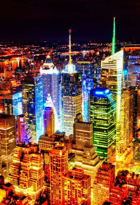light the night nyc quot new york city at night quot by peicong liu via 500px travel