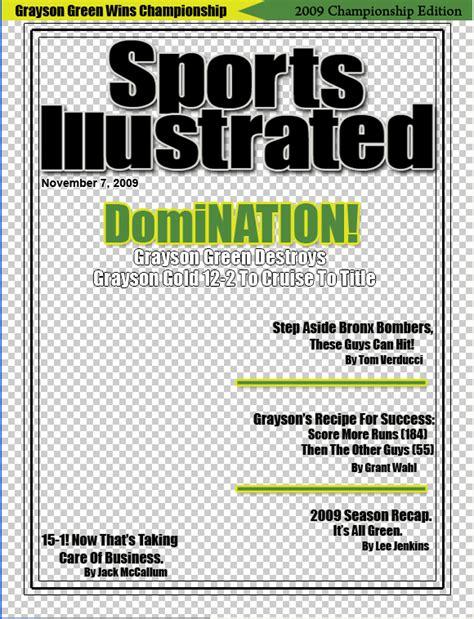 blank sport magazine cover template sports illustrated cover tangoromeoblog