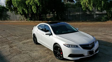 chris tlx bwp black rims roof grille acurazine