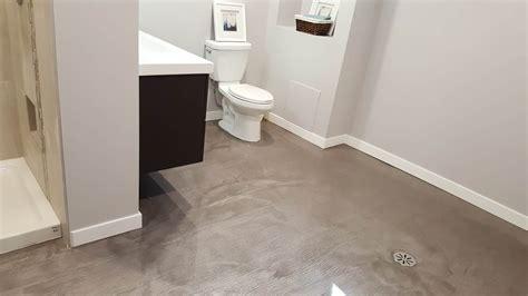 plancher flottant salle de bain refaire votre plancher de salle de bain b 233 ton surface