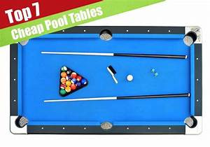 7 Best & Cheapest Pool Tables For 2017 - Jerusalem Post
