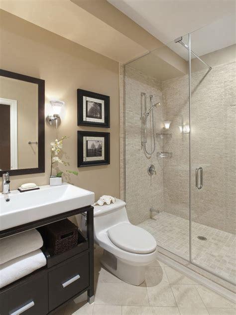 bathroom modern ideas bathroom casual modern beige small bathroom with shower
