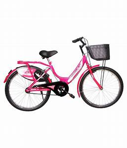 Hero Miss India Gold 24t Pink 60 96 Cm 24  Comfort Bike Bicycle Adult Bicycles  Women Bicycle