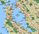 San Francisco Bay • Mapsof.net