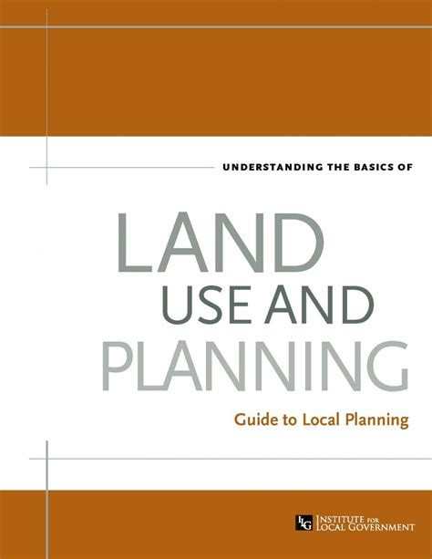 Understanding The Basics Of Land Use And Planning Series  Institute For Local Government