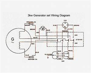 Electric Generator Diagrams