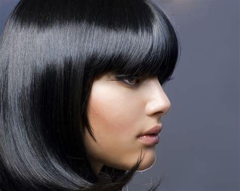 gray hair black