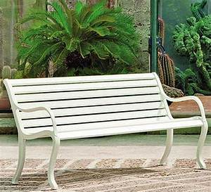 Gartenbank 2 Sitzer Weiß : fast design 3 sitze bank oasi gartenbank alu grau met art jardin ~ Bigdaddyawards.com Haus und Dekorationen
