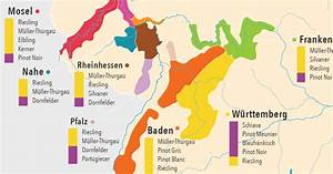 A Complete Introduction To The Wines Of Germany: MAP ...