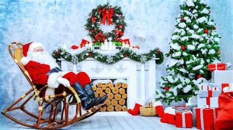 santa clause christmas wallpaper  desktop