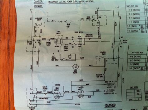 i a ge electric dryer which will not run it has motor we17m17 and starter switch