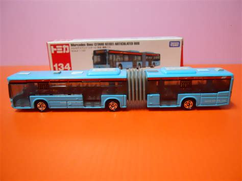 Skip to the end of the images gallery. Dexters Diecasts (DexDC): Tomica Long Vehicle #134 ~ Mercedes-Benz CITARO KEISEI Articulated Bus