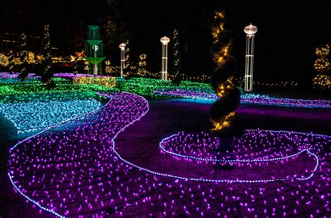 garvan gardens lights garvan gardens lights walk will enchant you in