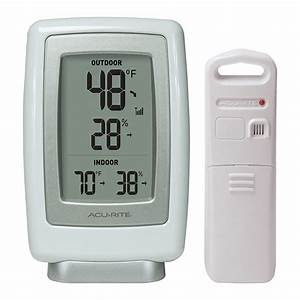 Acurite 00611a3 Wireless Indoor  Outdoor Thermometer And