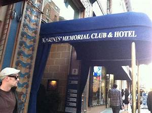 View from the street - Picture of Marines Memorial Club ...