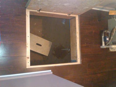 trap door hinges trap door trim kits flooring contractor talk