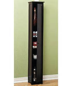 new cedar slim storage cabinet natural white or black
