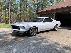 1st gen white 1969 Ford Mustang Fastback automatic [SOLD] - MustangCarPlace