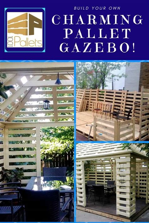 pavilion   recycled pallets pallet ideas