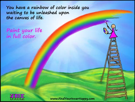 Paint Your Life In Full Color  Find Your Inner Happy