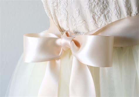 light blush pink dress light blush pink wedding sash pale pink double faced satin
